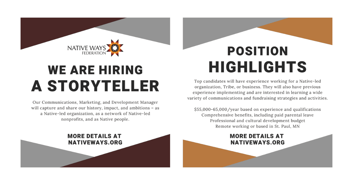Career Opportunity: Communications, Marketing and Development Manager